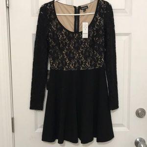 NWT Bebe Black Lace Dress